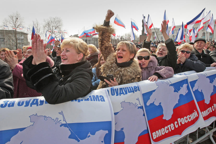 Верховный совет Крыма принял декларацию независимости