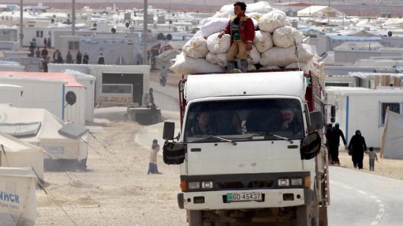Иорданские пограничники задержали на сирийской границе конвой с оружием и наркотиками