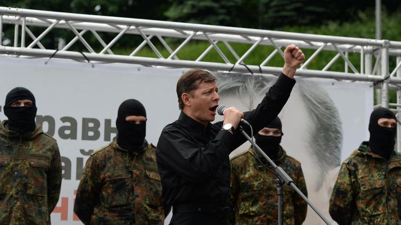 Депутат Рады признал, что воюющий в Донбассе батальон «Азов» наполовину состоит из уголовников