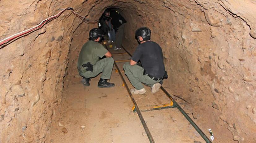 На границе США и Мексики нашли два тоннеля контрабандистов