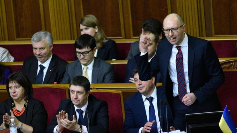 «Вижу свои задачи шире»: Яценюк всё же уходит