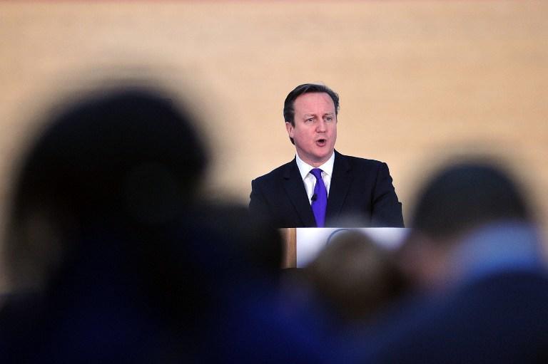 Дэвид Кэмерон призвал шотландцев не разрывать Великобританию на части
