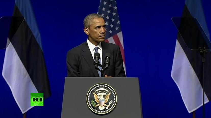 Эксперт: Заявления Обамы о расширении присутствия в Прибалтике далеки от реальности