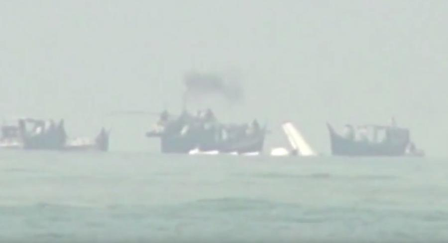 Cамолёт Ан-26 потерпел крушение в Бангладеш