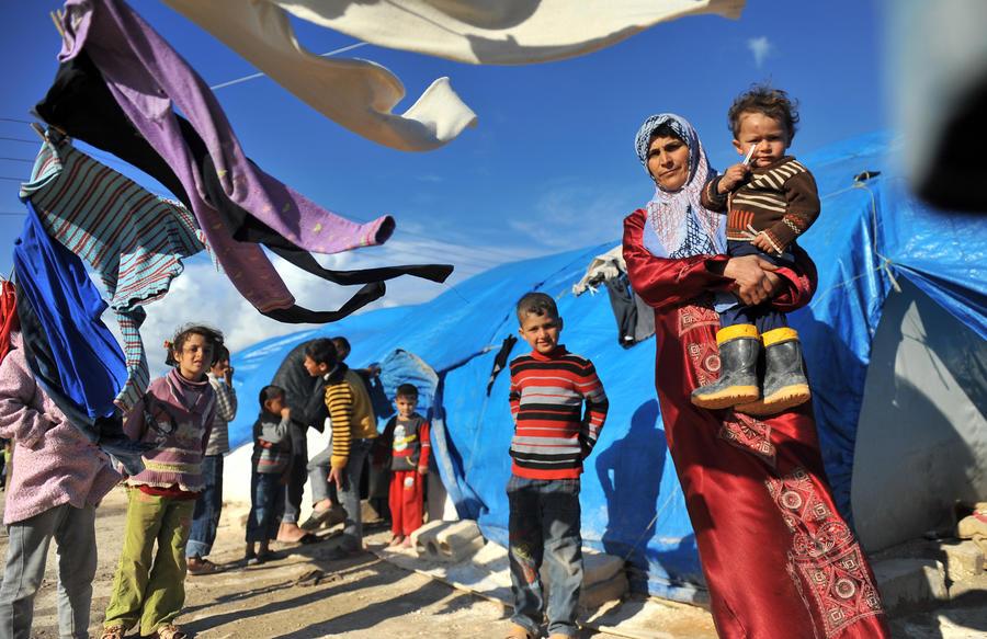Тысячи беременных беженок из Сирии вынуждены рожать в ужасных условиях
