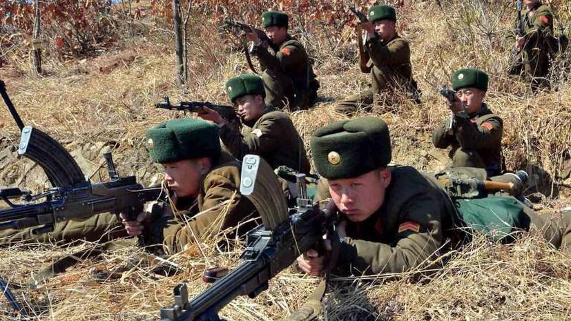 Северокорейские солдаты из-за голода дезертируют в Китай
