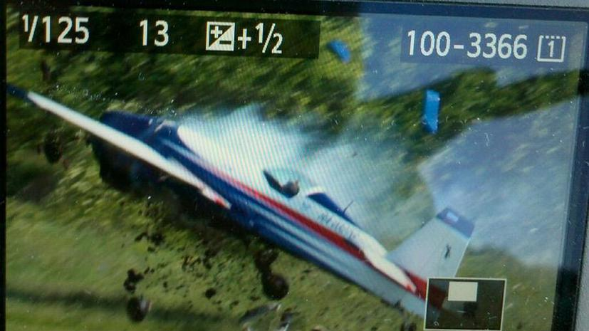 На авиашоу в Подмосковье разбился самолёт, пилот погиб