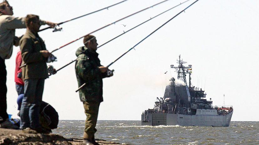 Россия направила к берегам Сирии десантный корабль