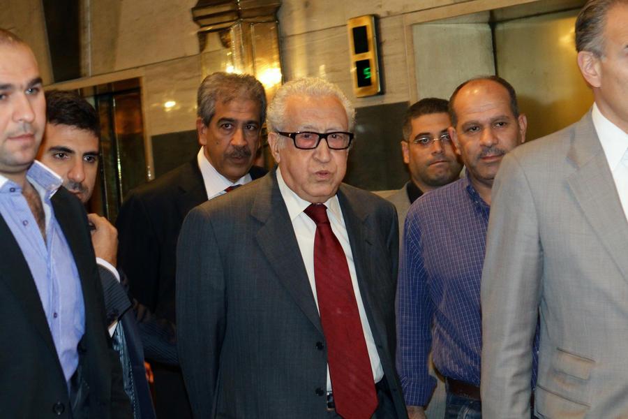Лахдар Брахими: «Женева-2» без участия сирийской оппозиции не состоится