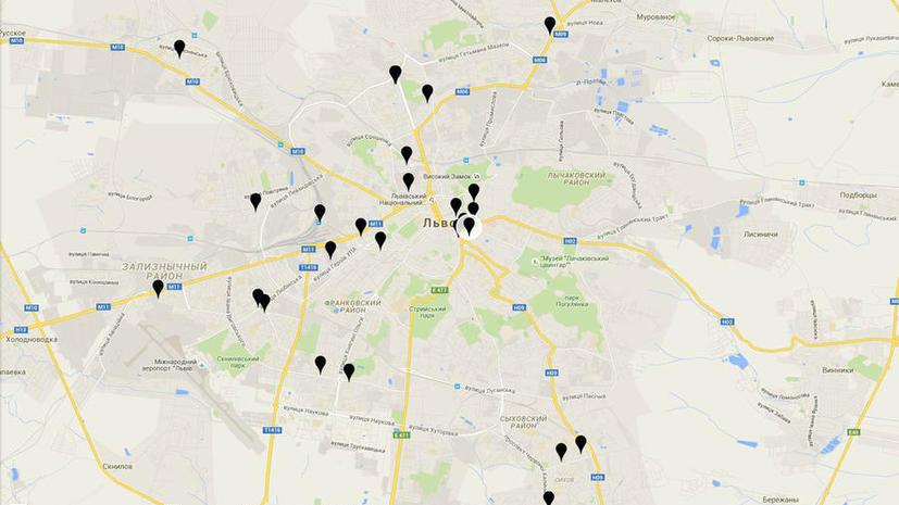 Во Львове создали «чёрную карту» ресторанов с российской музыкой
