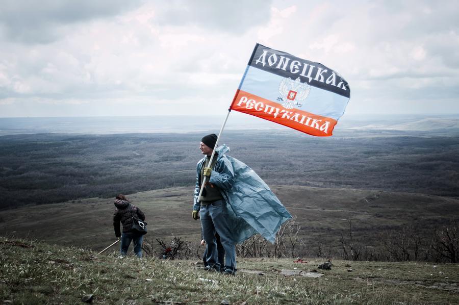 Год назад в Донбассе началось активное противостояние