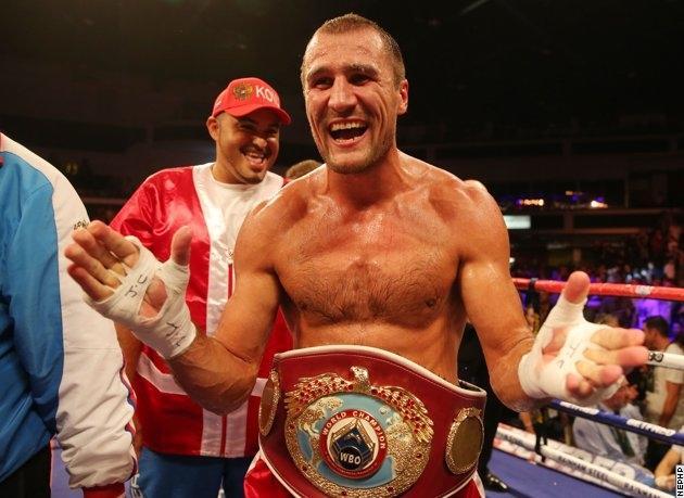 Сергей Ковалёв выиграл титул чемпиона мира по версии WBO за 5 минут