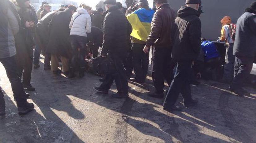 Взрыв в Харькове — фото и видео очевидцев