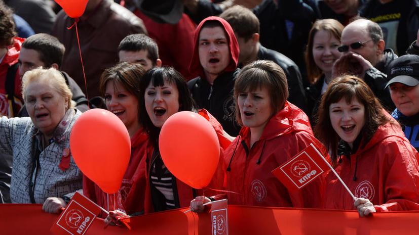 В Москве пройдут праздничные шествия, посвящённые Дню весны и труда