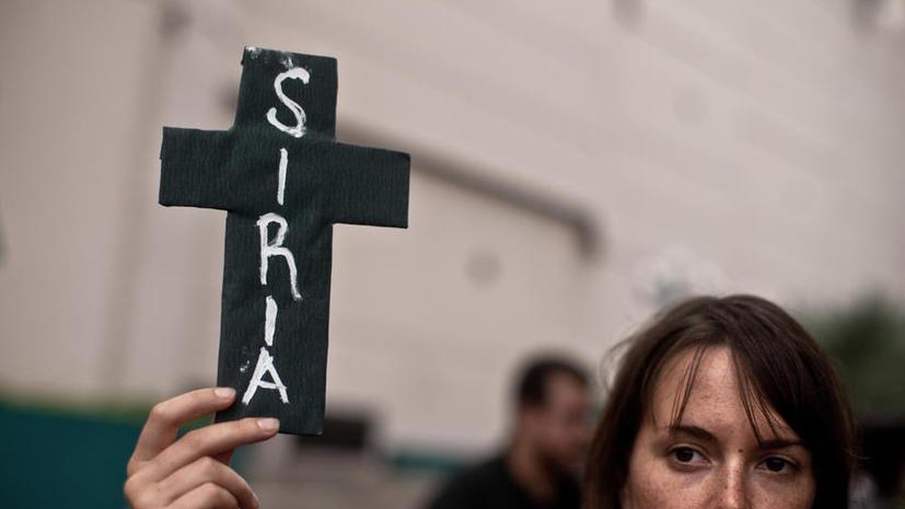 Сирийская оппозиция предложила отдать химоружие под контроль Москвы