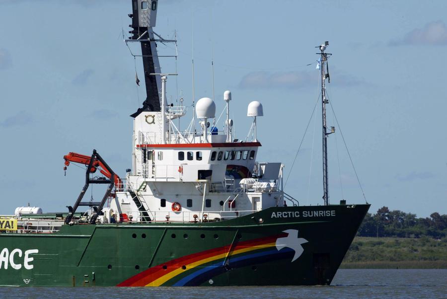 Российские дипломаты вручили ноту послу Нидерландов после провокации ледокола Greenpeace
