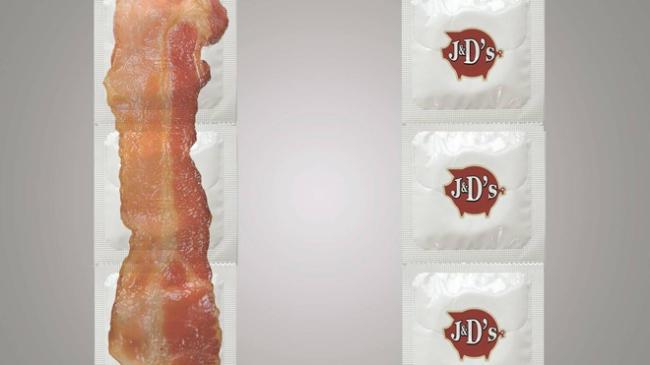 В США выпустят презервативы с ароматом бекона