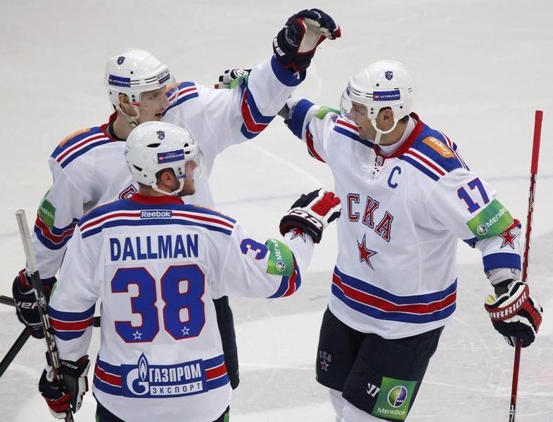 Питерский СКА досрочно победил в регулярном чемпионате КХЛ