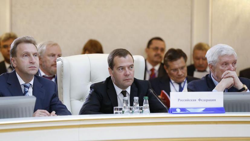 Дмитрий Медведев: Украина перечислила России определённую сумму в счёт долга за газ
