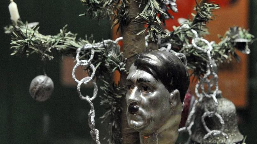 Выставка ёлочных игрушек эпохи Гитлера и Сталина открылась в Германии