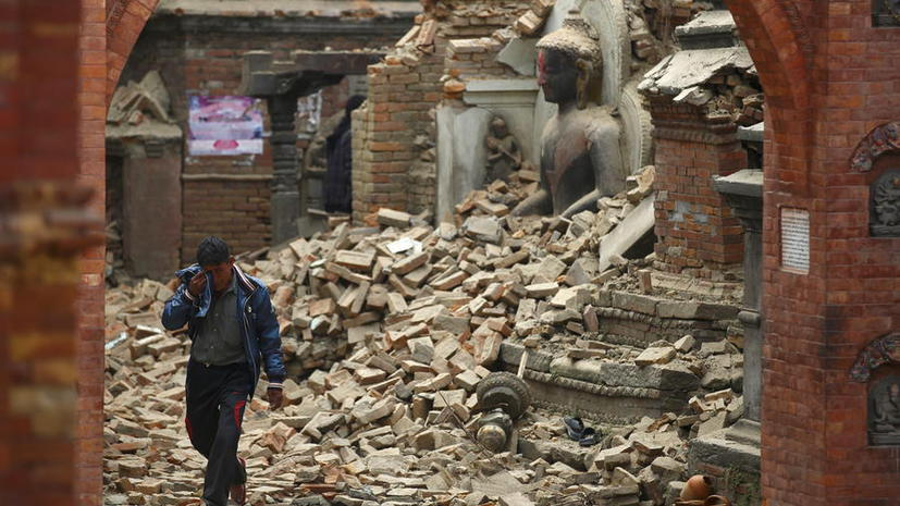 Землетрясение в Непале глазами учёных