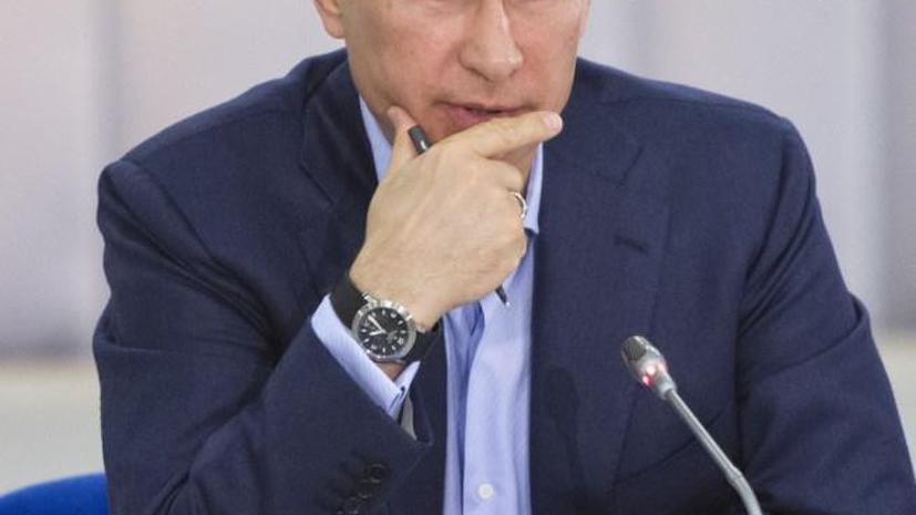 Владимир Путин: Не защищая интеллектуальные права, мы нанесём большой ущерб