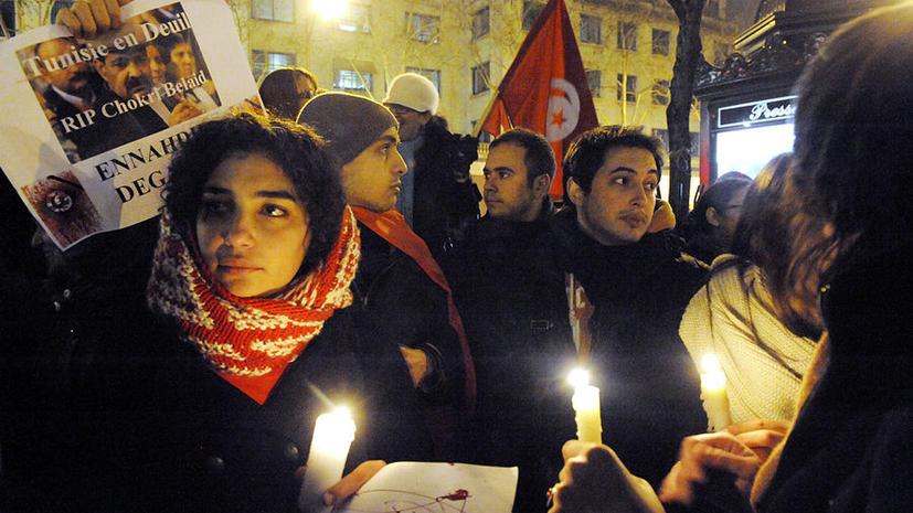 Тунисские исламисты не спешат распускать правительство, несмотря на акции протеста