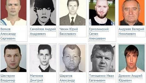 Их разыскивает полиция: МВД предлагает по 1 млн рублей за каждого из десяти опасных преступников
