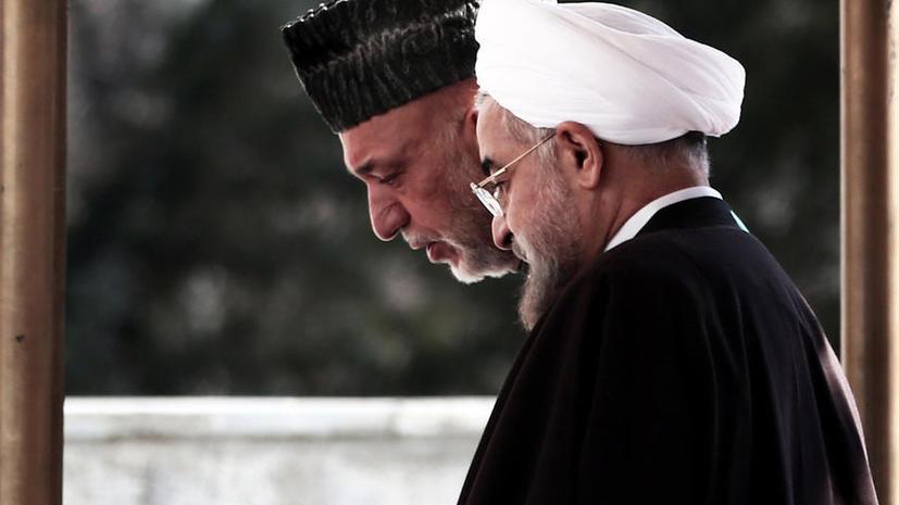 Иран и Афганистан договорились вместе контролировать регион