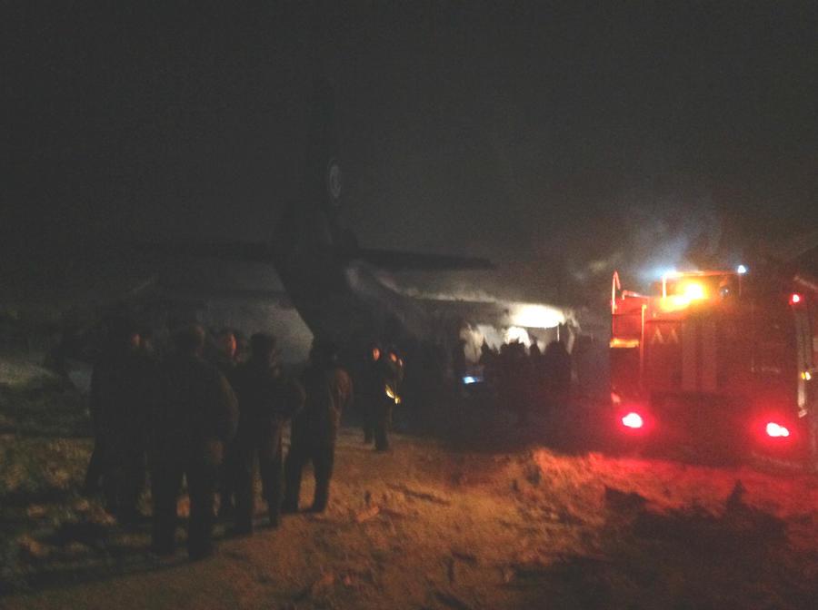 Транспортный Ан-12 разбился под Иркутском, погибли 9 человек