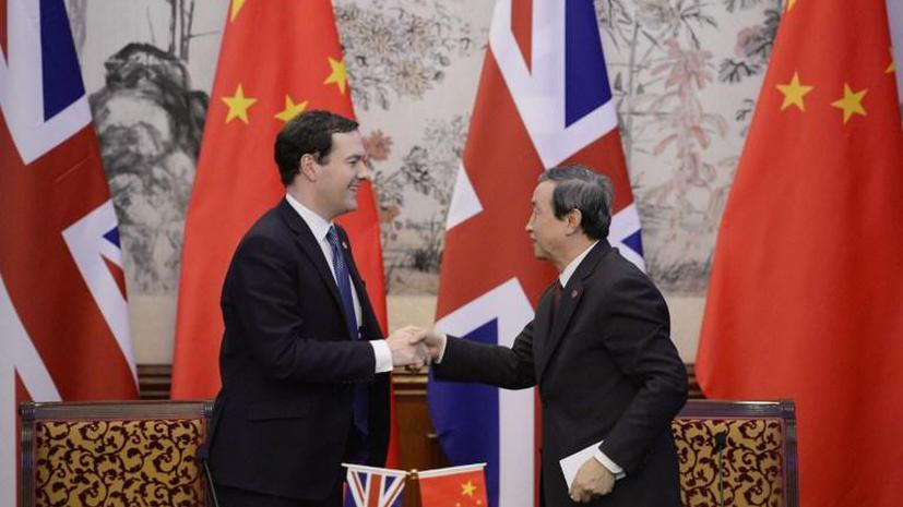 Великобритания будет торговать за юани