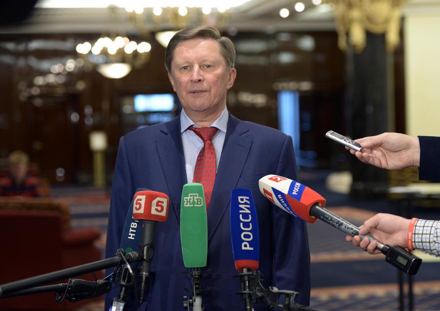 Сергей Иванов: Антироссийские санкции привели к расколу элит на Западе