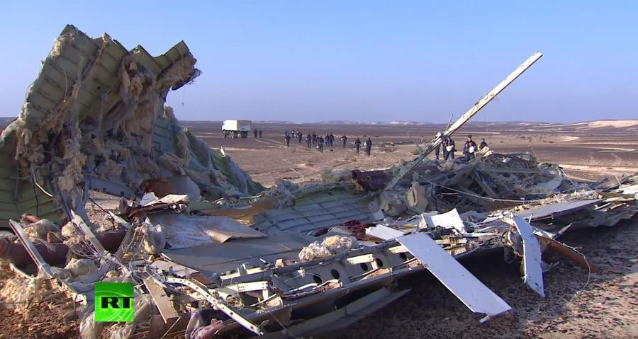 Крушение A321: версии причин авиакатастрофы над Синайским полуостровом