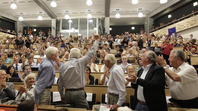 Бозон Хиггса официально зарегистрирован