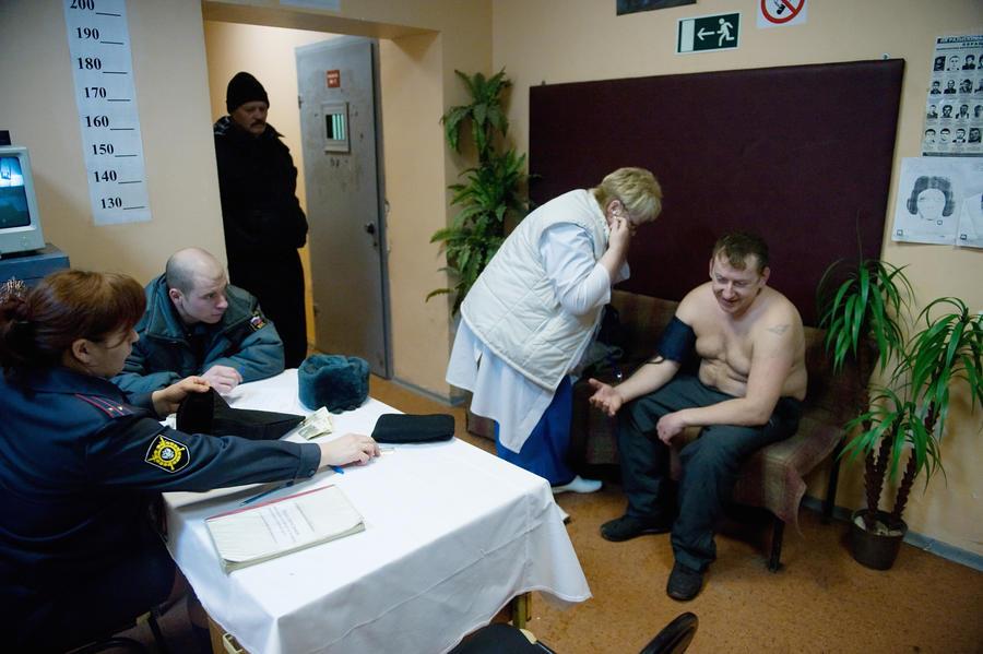 В России вновь появятся вытрезвители