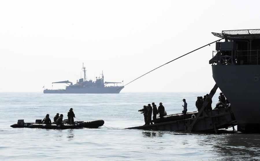 Южная Корея открыла ракетный огонь в ответ на учения войск КНДР в Жёлтом море