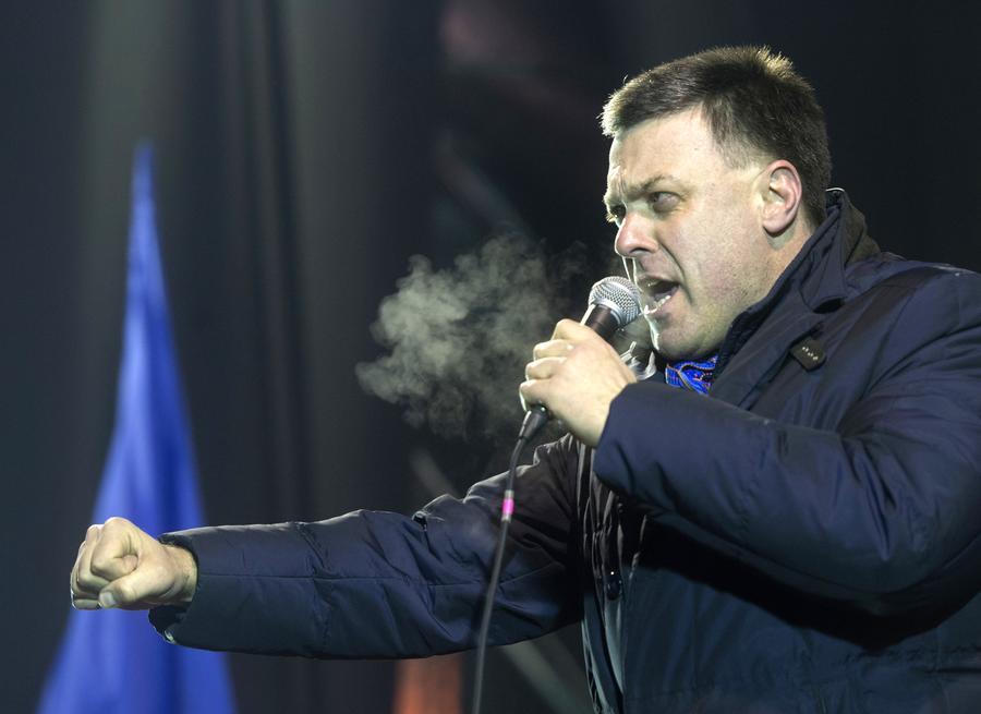 Олег Тягнибок: Единственным государственным языком будет украинский