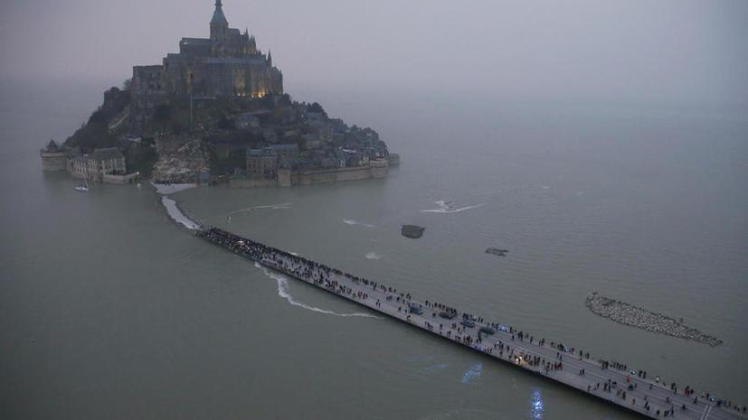 Солнечное затмение вызвало во Франции прилив века