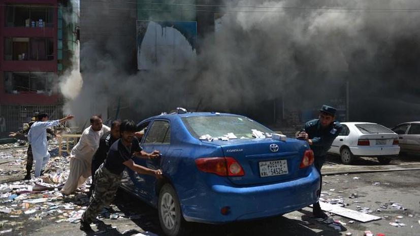 Смертельные игры: дети афганского боевика подорвались на бомбе отца