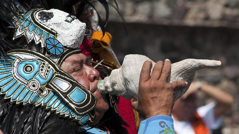 Мексиканский робот открыл древние комнаты под «городом, где родились боги»
