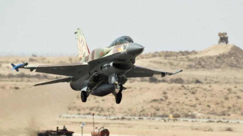 Израиль нанёс ответный удар по сектору Газа