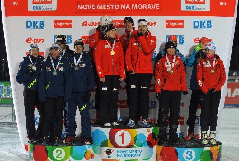 Сборная России провалила старт Чемпионата мира по биатлону