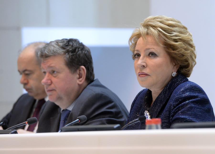 Валентина Матвиенко: На Западе начинают понимать, что без РФ невозможно эффективно решать проблемы