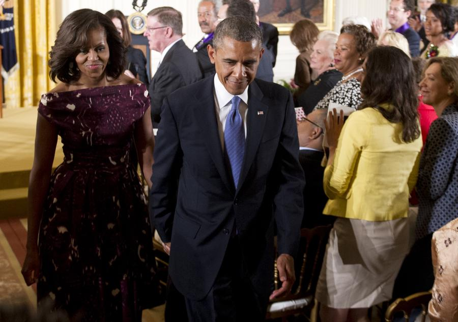 Опрос: американцы недовольны внешней политикой Обамы