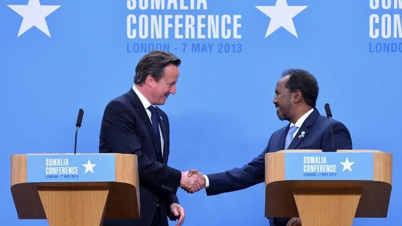 Визит президента Сомали обошёлся Британцам в 50 тыс. фунтов