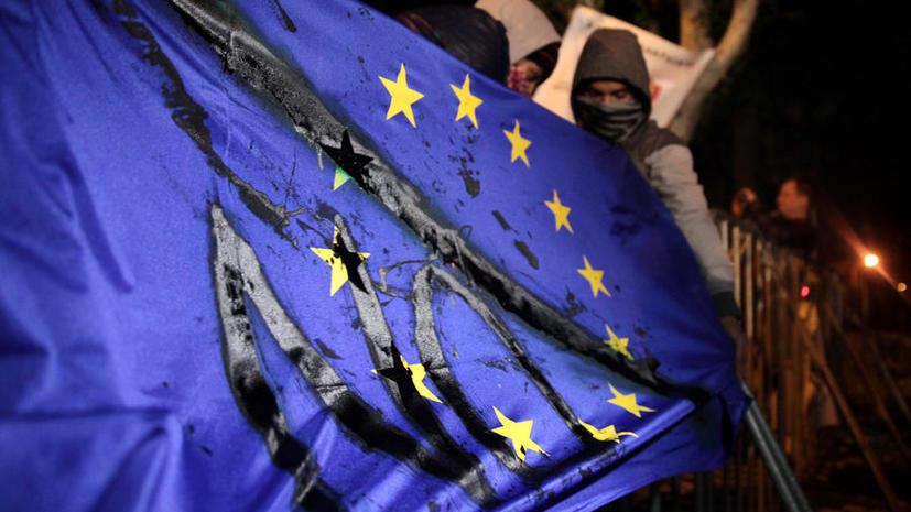 Общественное доверие к Евросоюзу подорвано на фоне кризиса
