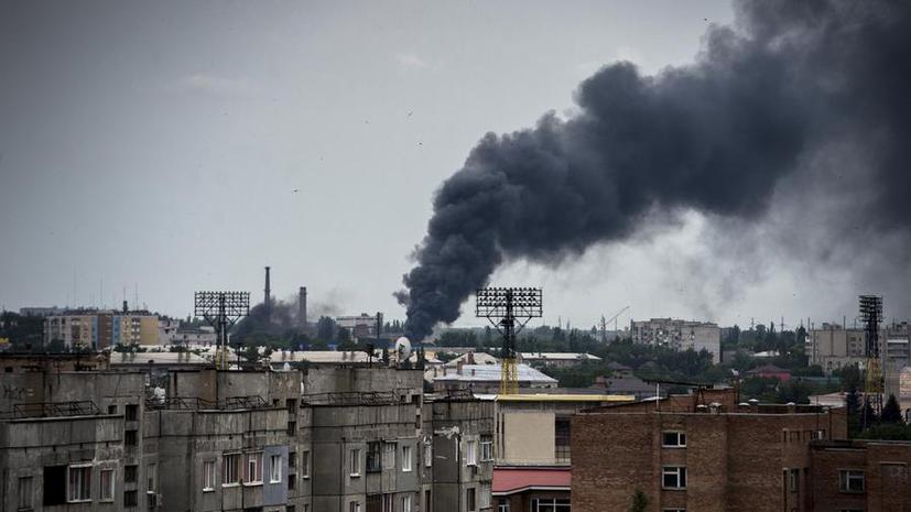 Пригороды Луганска подверглись ракетному обстрелу украинских силовиков