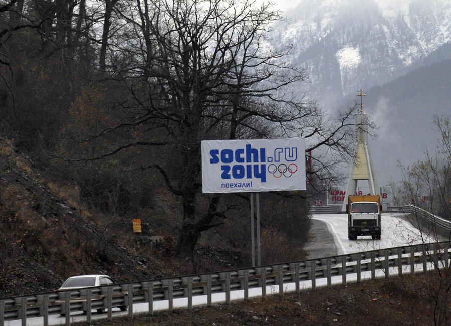 Госдума ограничит въезд транспорта в Сочи на время Олимпиады