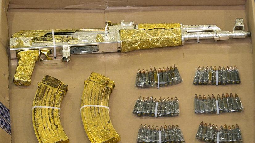 В Египте задержана крупная партия оружия