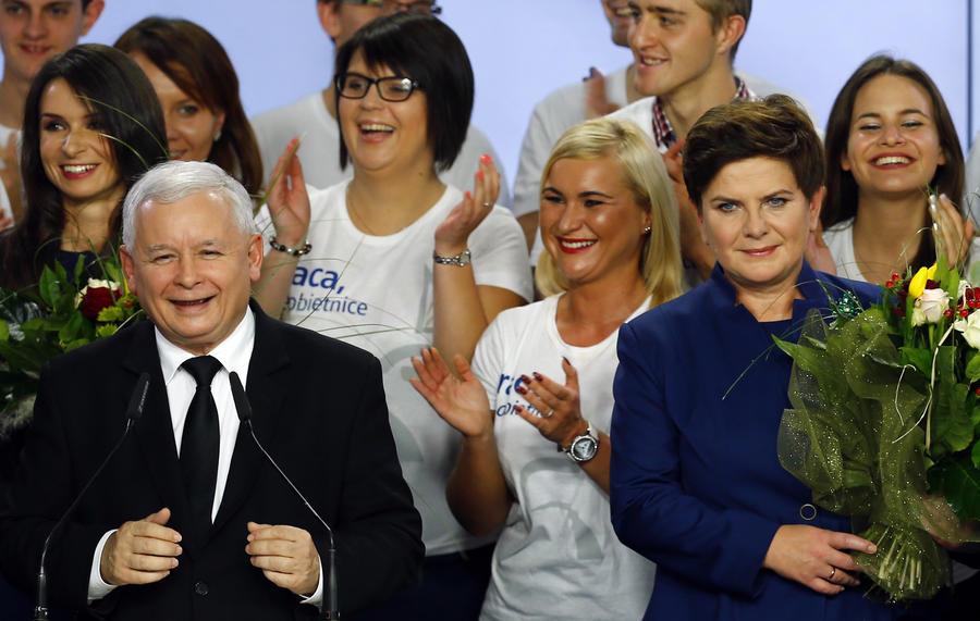 Партия «евроскептиков» Ярослава Качиньского одержала победу на выборах в Польше